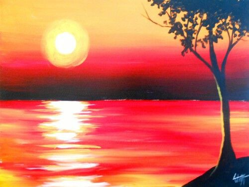 clip art download Love the reflection off. Drawing reflections sunset