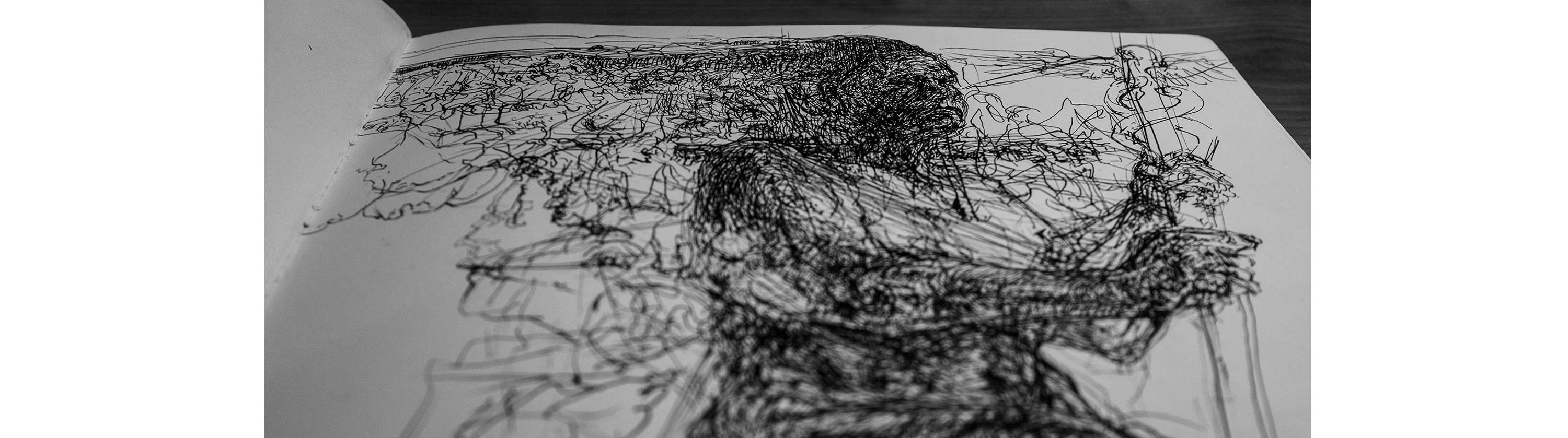 graphic Drawing reflections water. Serious world on behance