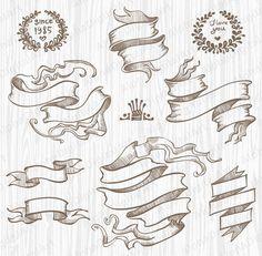 jpg transparent library  best draw ribbon. Drawing ribbons