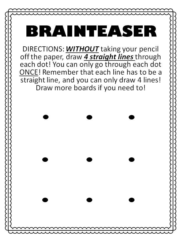 free Brainteaser