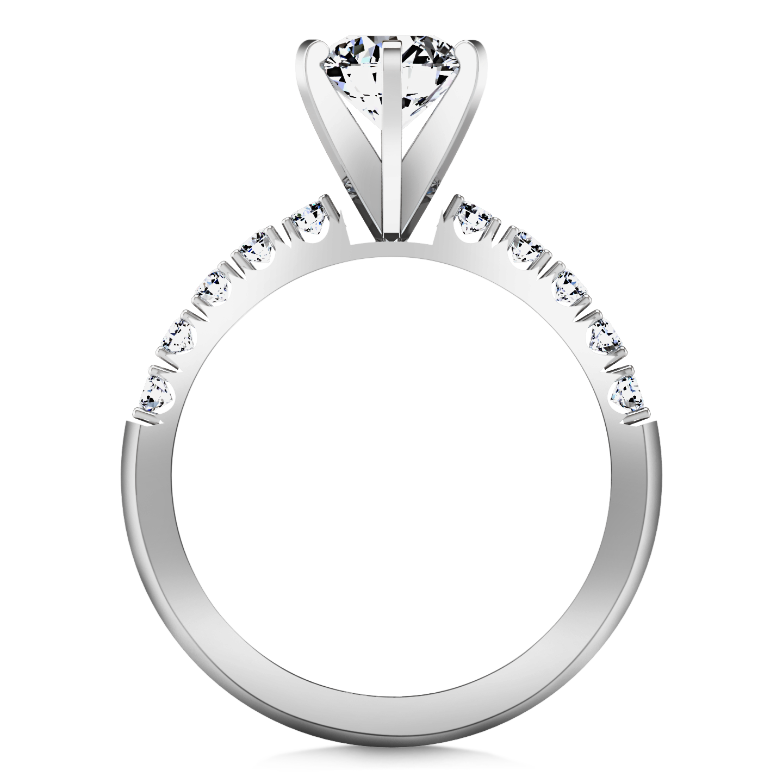 image transparent download Pave Engagement Ring Grace
