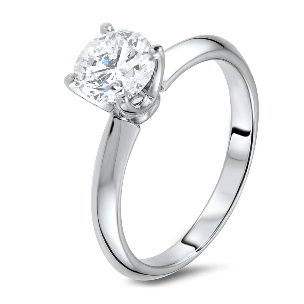 clip library stock  k wg carat. Transparent ring classic solitaire