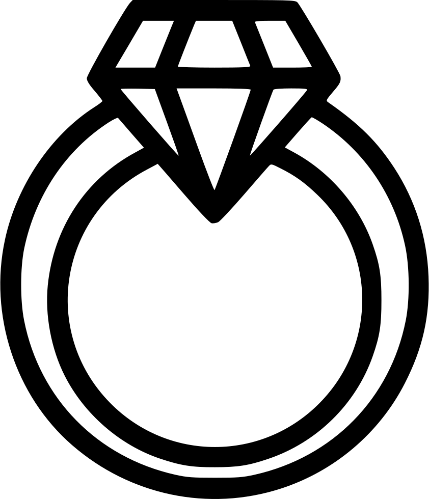 image library library Diamond Ring Svg Png Icon Free Download