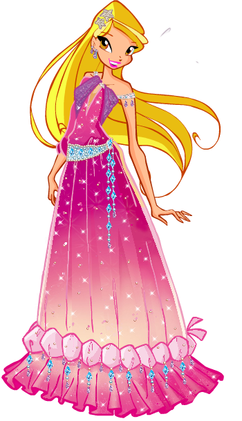 svg freeuse library Stella Winx Club Ball Gowns