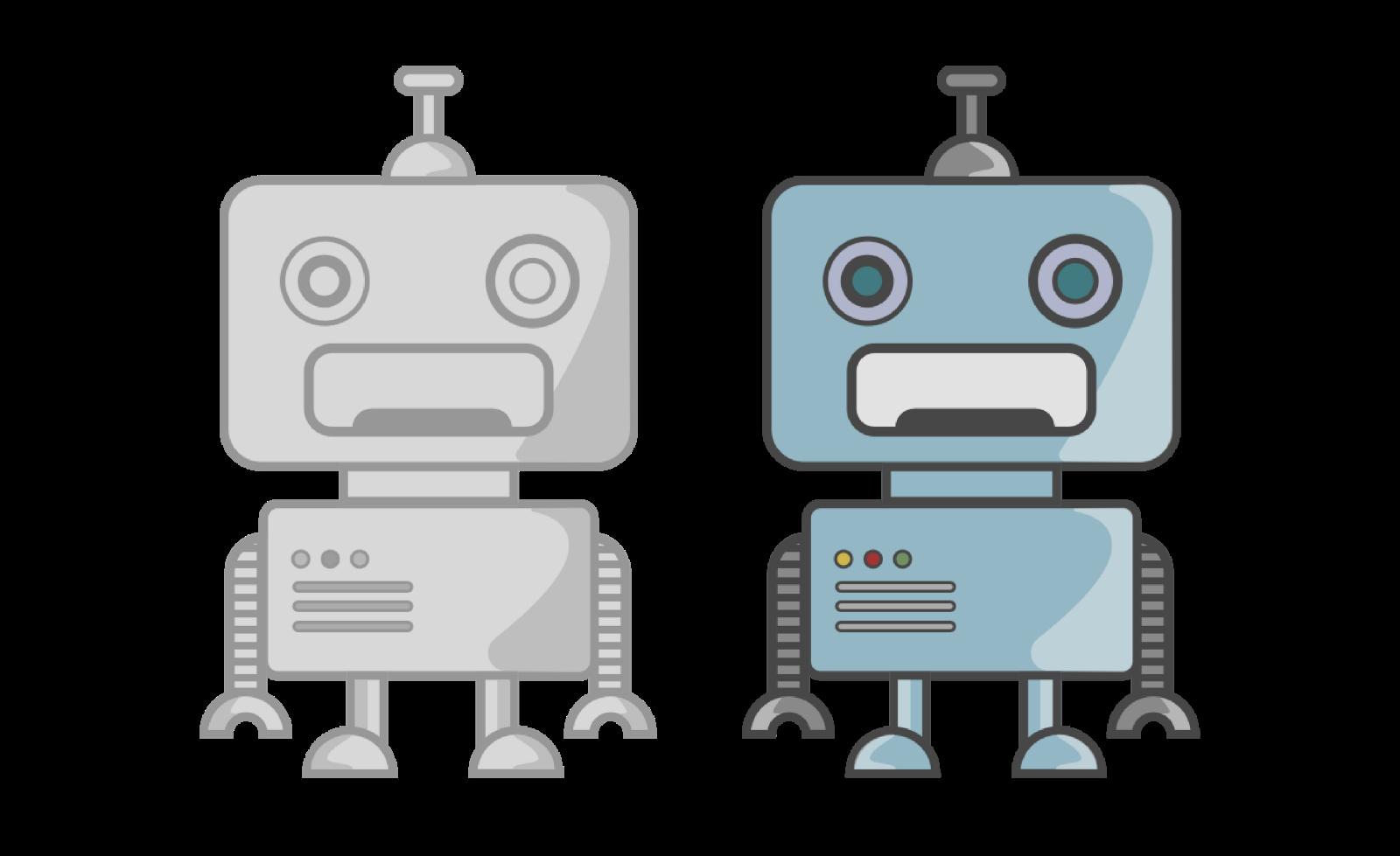 clip download drawing robots beginner #95493822