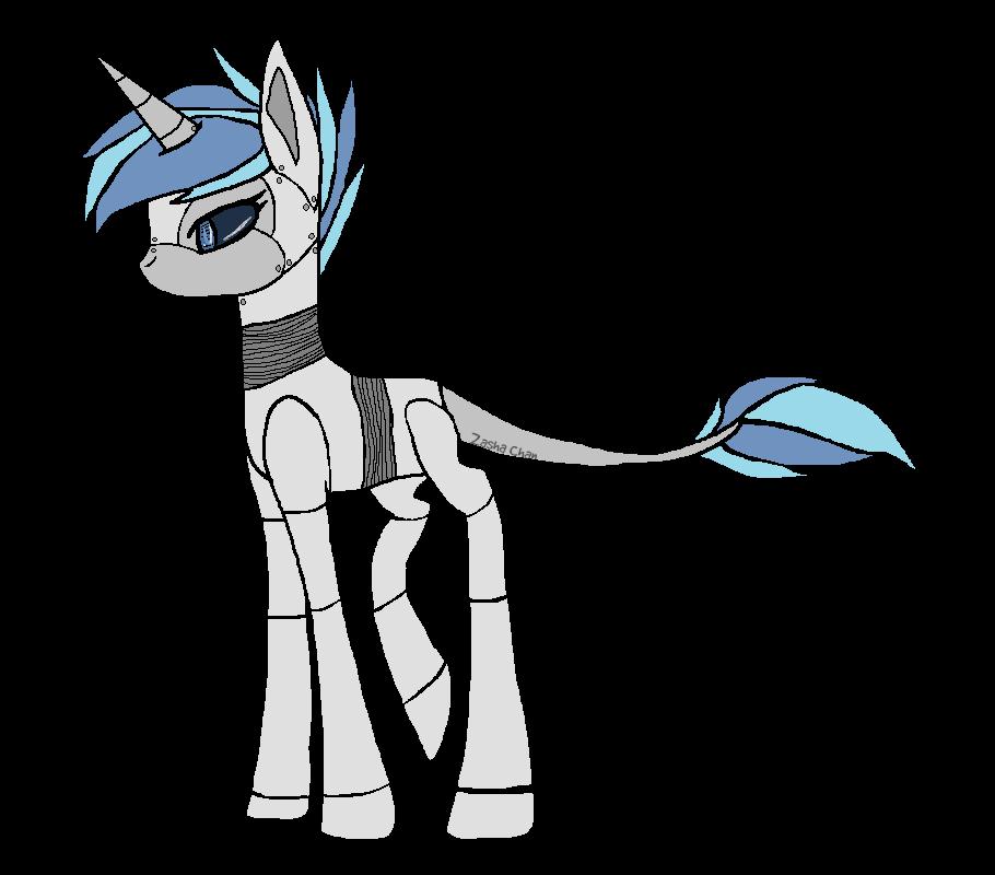 clipart transparent Robot Horse by ZashaChan on DeviantArt