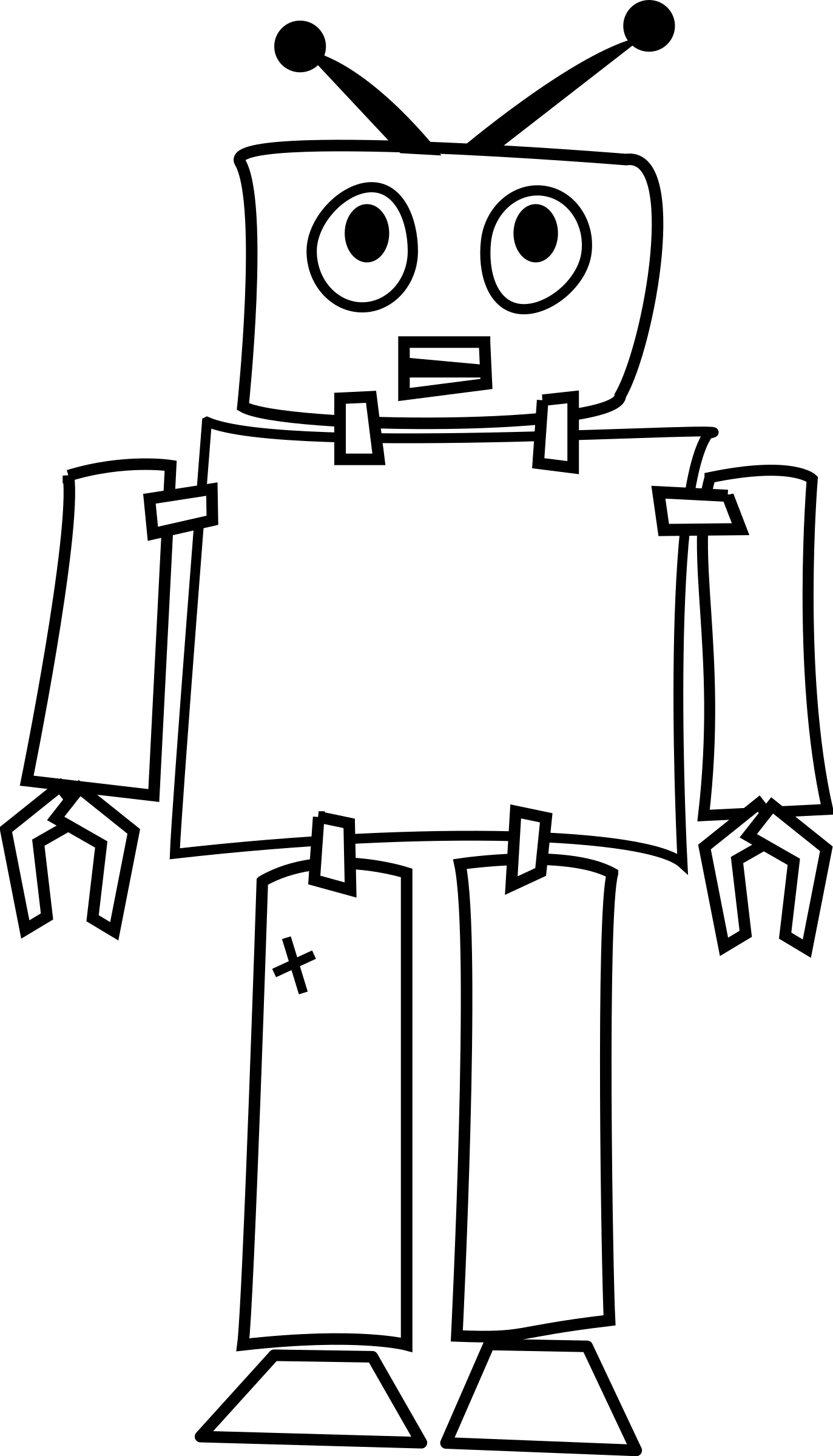 freeuse download Line art by gammillian. Drawing silhouette robot
