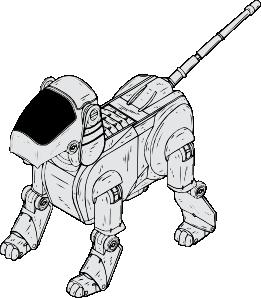 clipart transparent download Robot Dog Clip Art at Clker