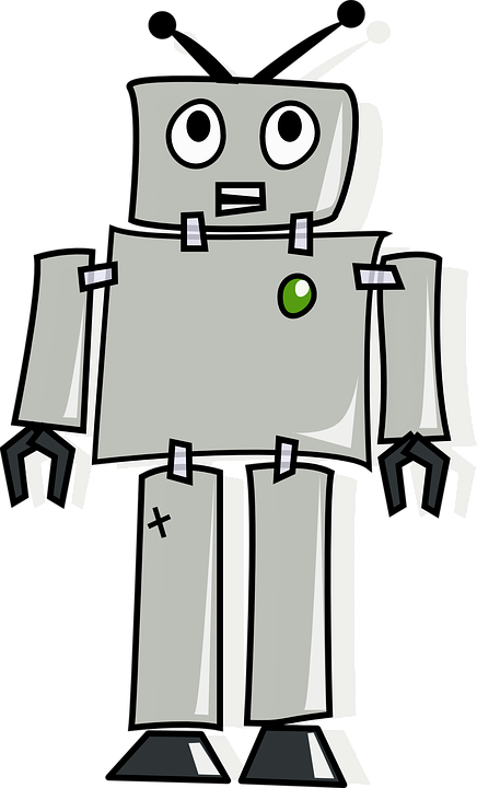 clip art library library Ingyenes k p a. Drawing robots retro robot