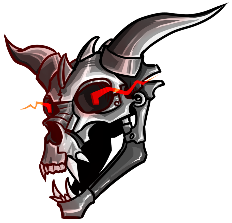 vector free library A Disembodied Robot Dragon Head by DefectiveThylacine on DeviantArt
