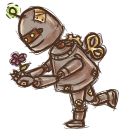 clipart royalty free download Steampunk Robot Icon