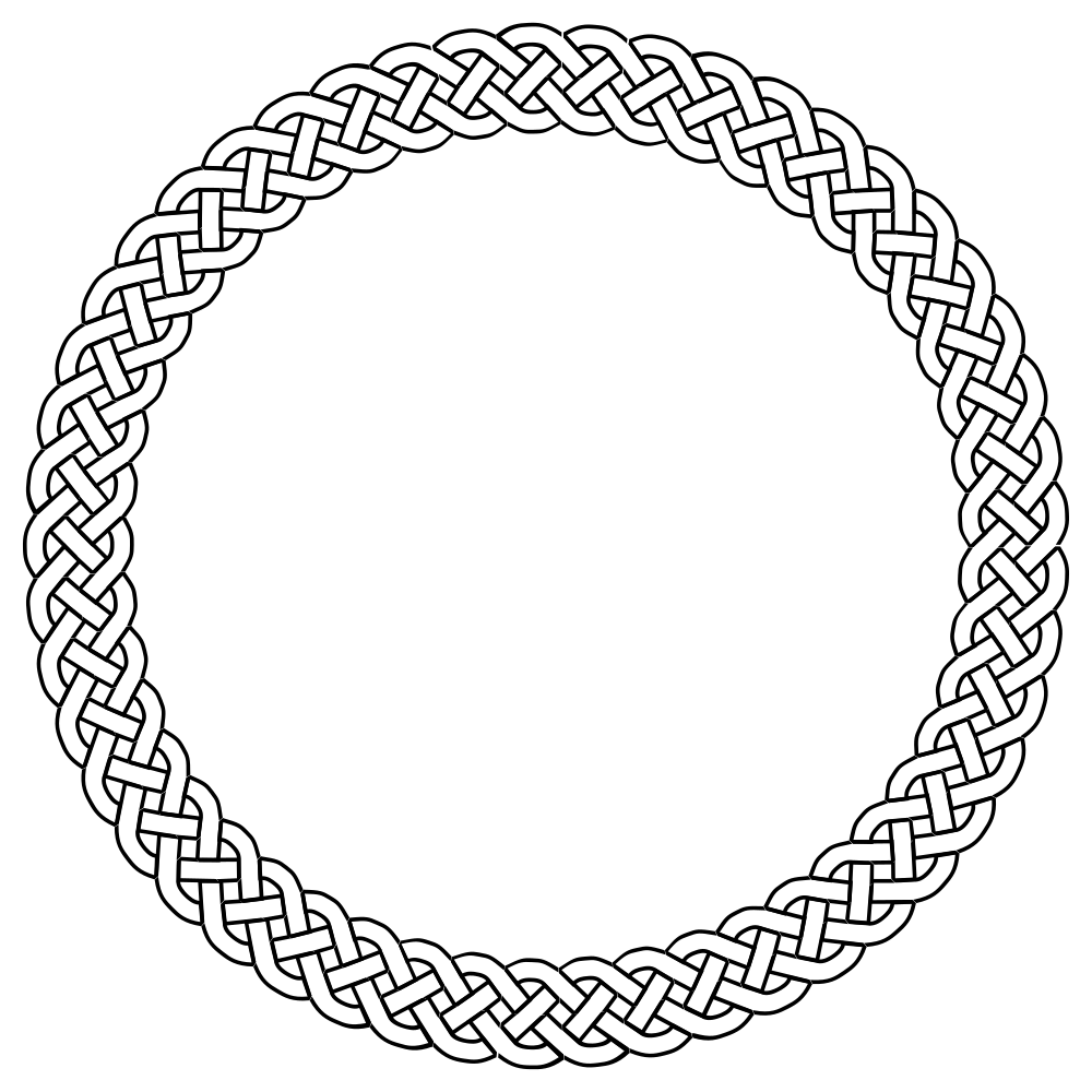image royalty free Drawing rope braided. Onlinelabels clip art plait