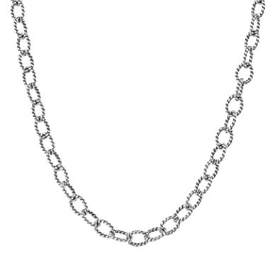 picture stock Drawing rope chain. Carolyn pollack sterling silver