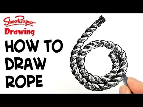 jpg free download Drawing rope coiled. How to draw a