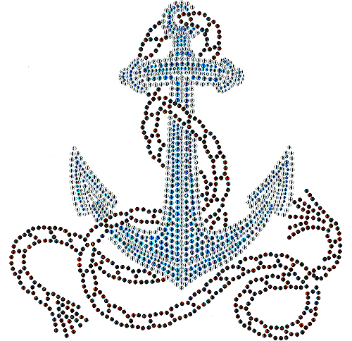 clipart freeuse download S anchor with isaacs. Drawing rope nautical