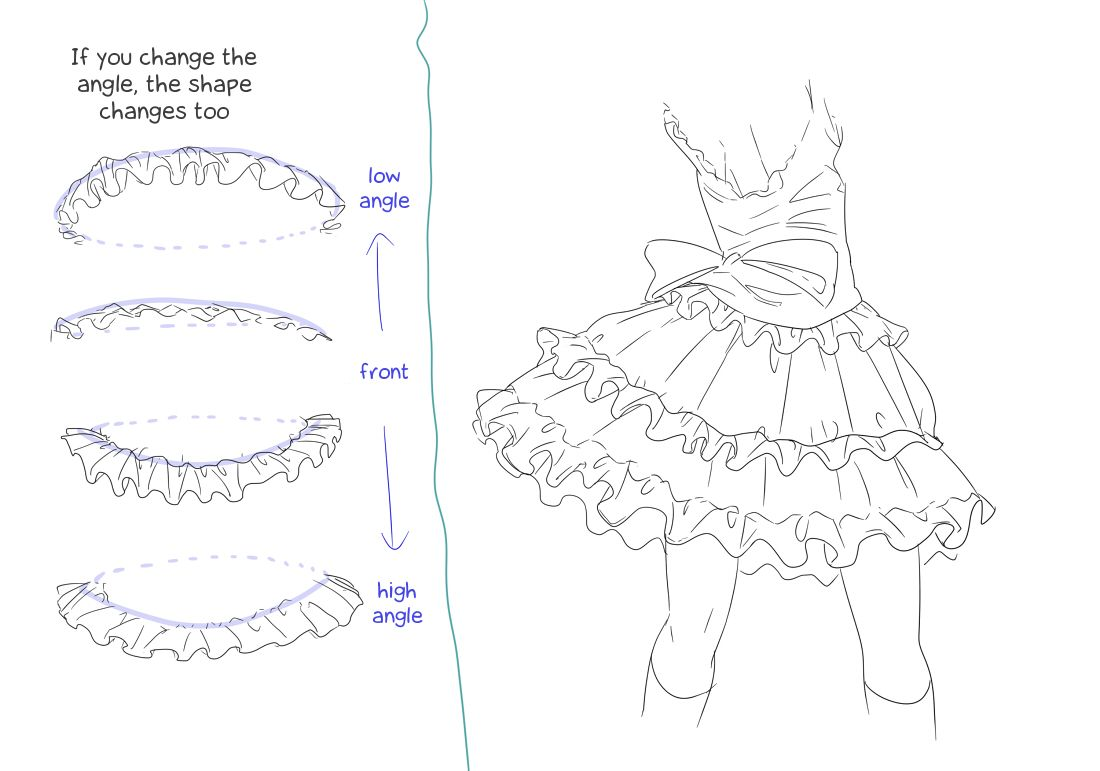 clip art transparent download  immortal how to. Drawing ruffles anime