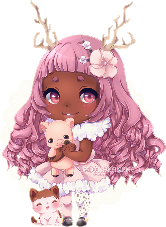 image transparent stock Detailed commission for elarywakefield. Drawing ruffles chibi