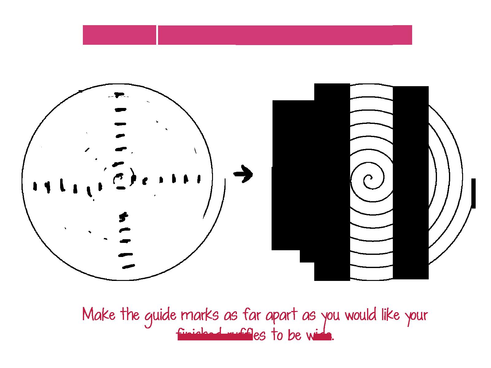 vector royalty free download Circular Ruffles