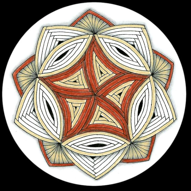 clip art stock Twelve days of day. Drawing ruffles zentangle