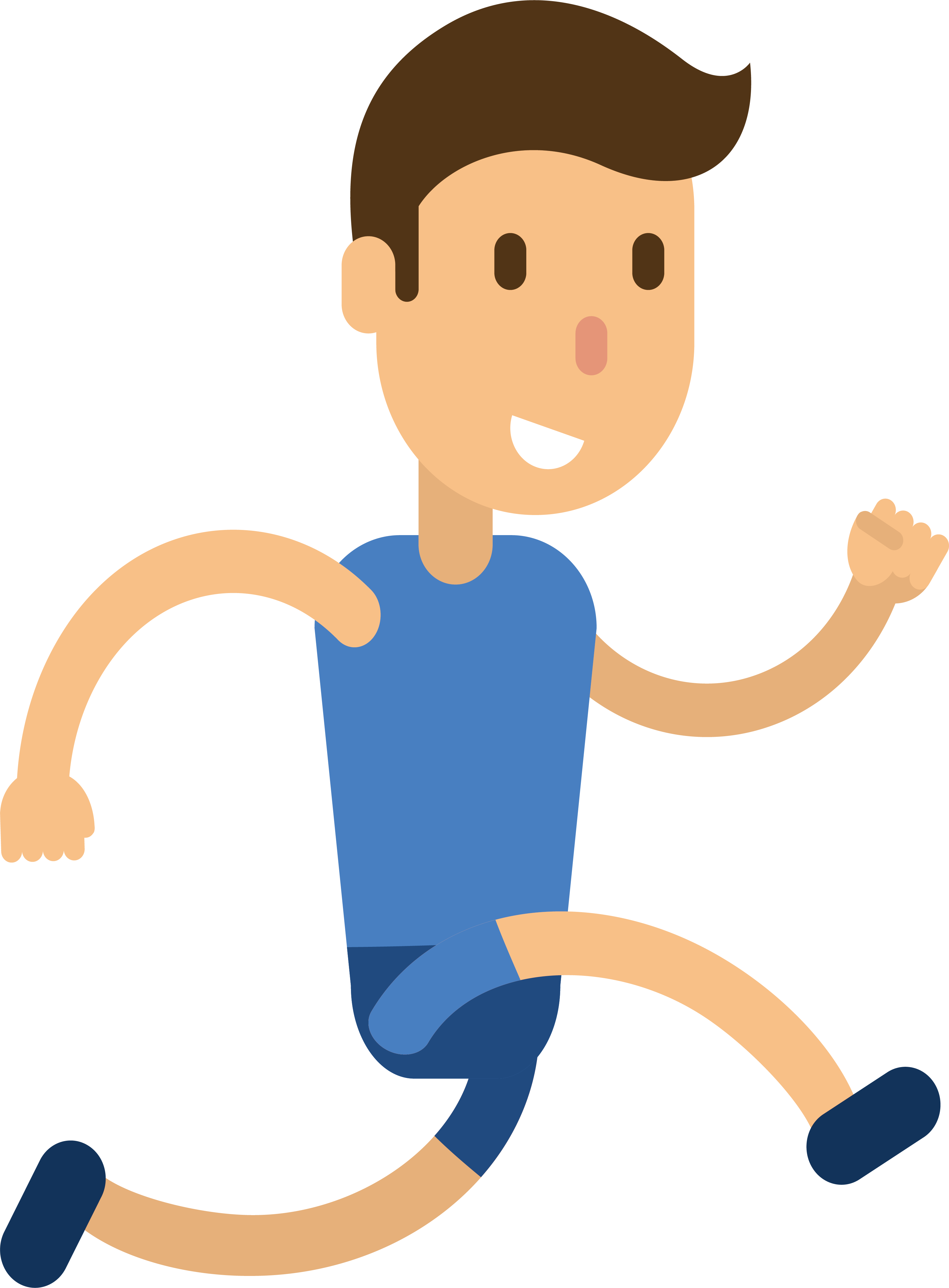 picture freeuse Drawing running boy. Athlete illustration transprent png