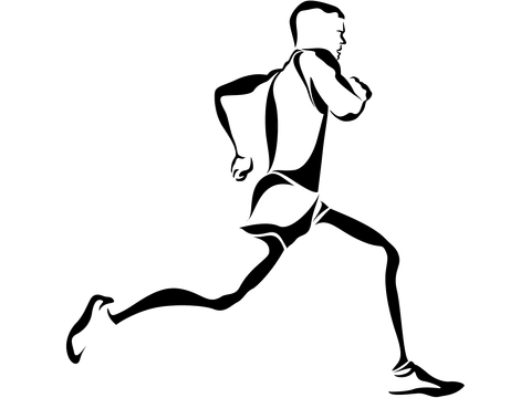 image freeuse download Pinterest and tattoo. Drawing running legs