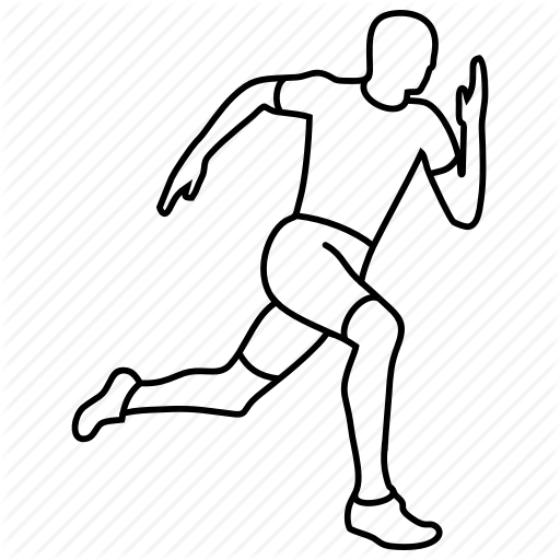 jpg transparent Sport by oleksandr panasovskyi. Drawing running man