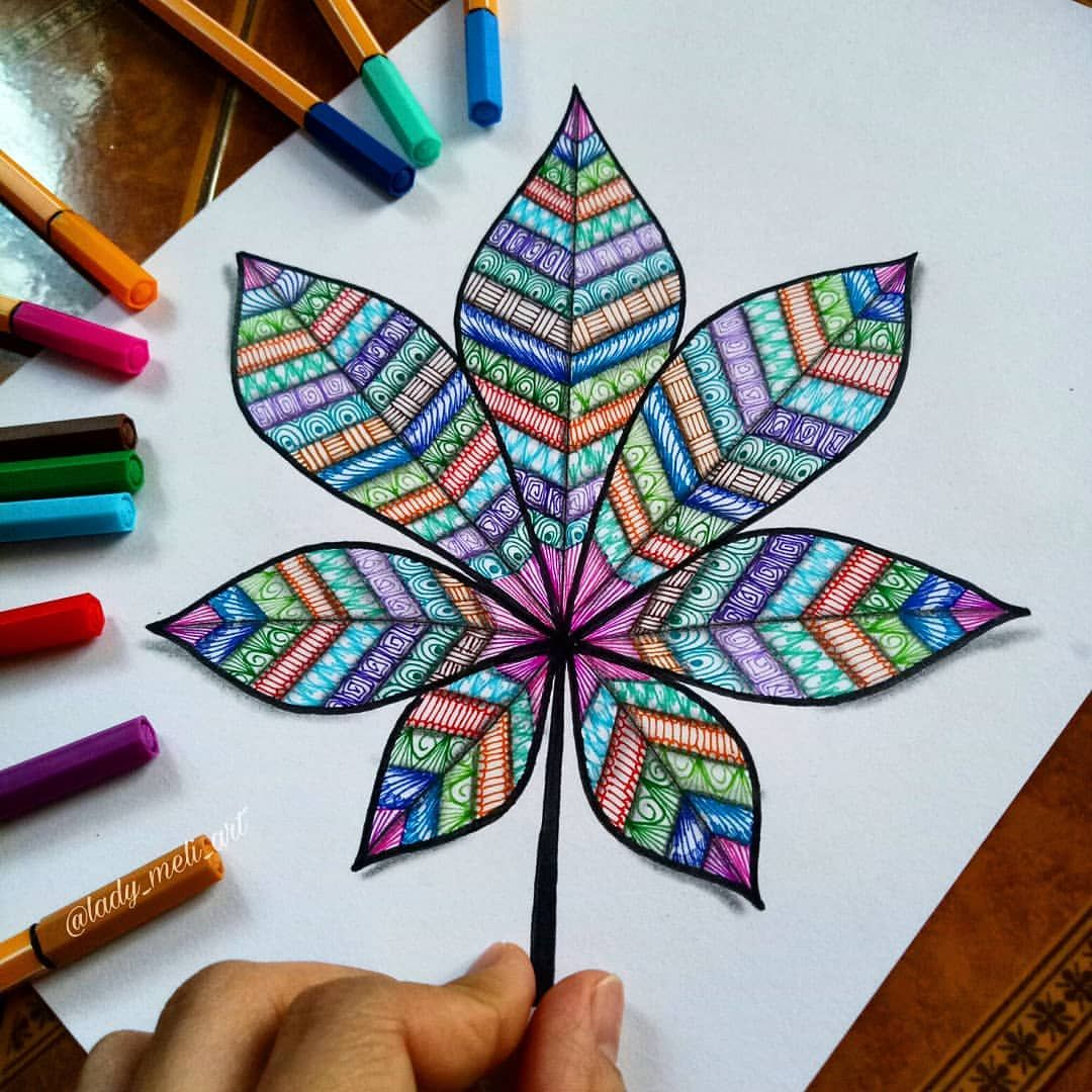 vector free stock  d leaf. Drawing s colorful