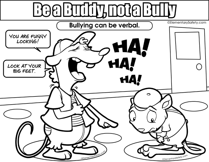 clipart free library  bully easy for. Drawing sad bullying