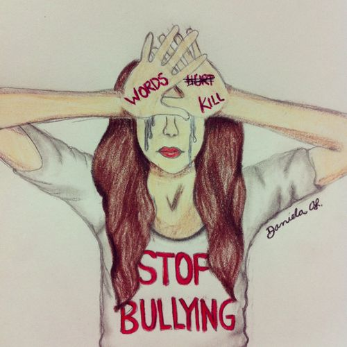 clip black and white download Pin on tantalizing pintrests. Drawing sad bullying