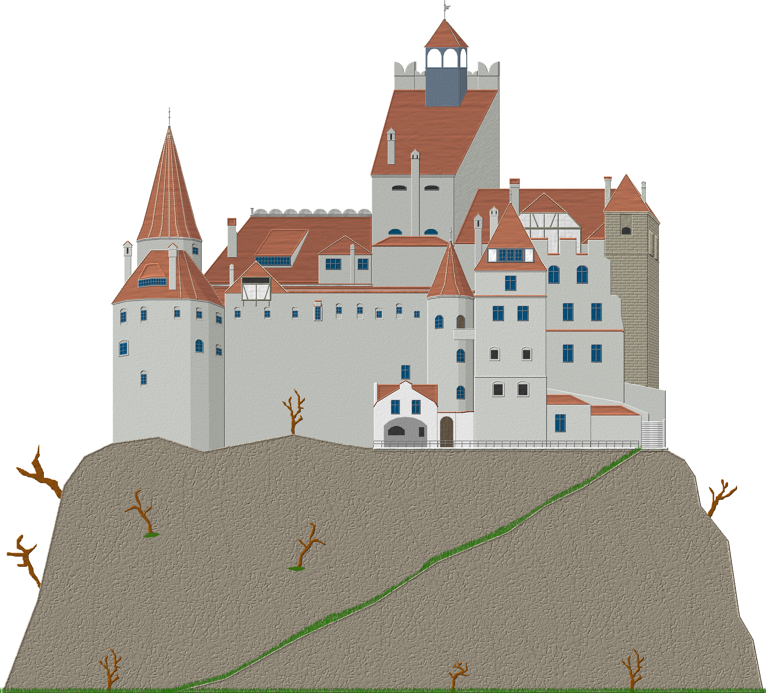 png freeuse download Dracula Castle by Herbertrocha