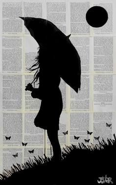picture royalty free stock Saatchi artist loui jover. Drawing silhouette art