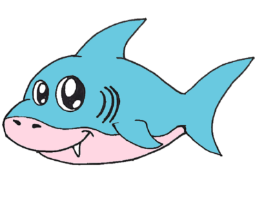 jpg library download How to draw a. Drawing sharks baby shark