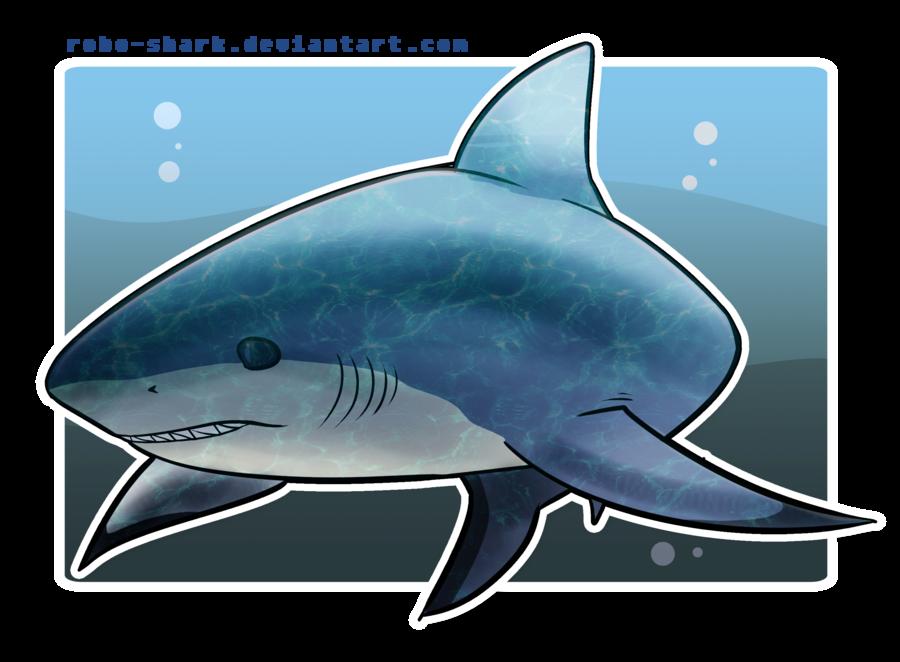 clip Drawing sharks bull shark. Week by robo on