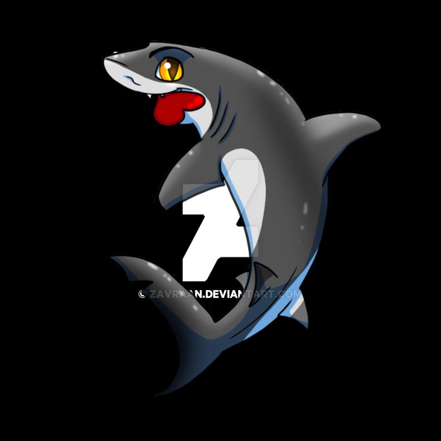 clip transparent stock Grey chibi by zavraan. Drawing sharks caribbean reef shark