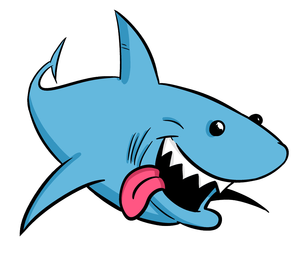 image transparent Drawing sharks cartoon. Shark animation clip art