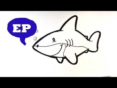 image transparent library How to draw a. Drawing sharks cute