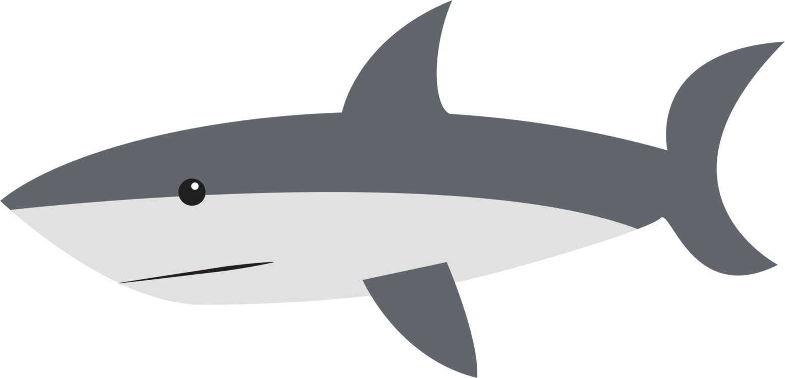 clip free Great white shark cartoon. Drawing sharks fish