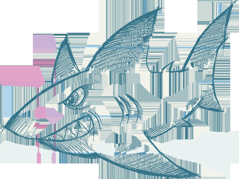 vector royalty free stock Shark fish hand drawn. Drawing sharks lukisan