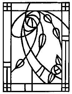 vector black and white Drawing sheet mackintosh. Windows rubber stamp new