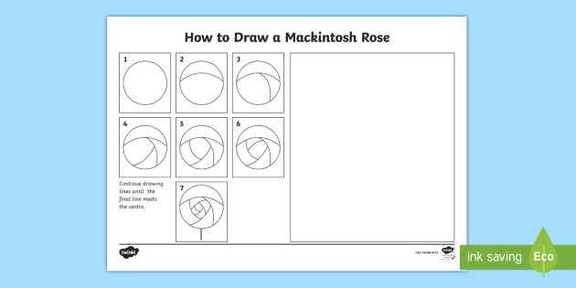 clip art freeuse stock Drawing sheet mackintosh. Cfe second level how