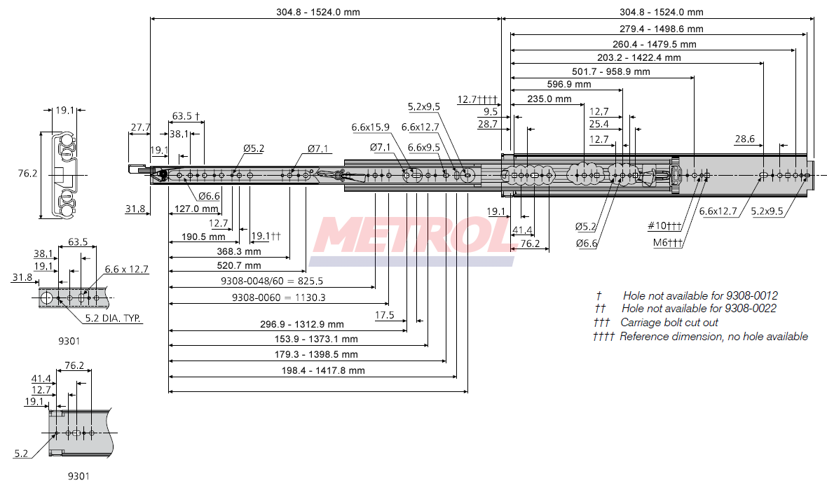 jpg royalty free library Accuride drawer dz e. Drawing sheet slide