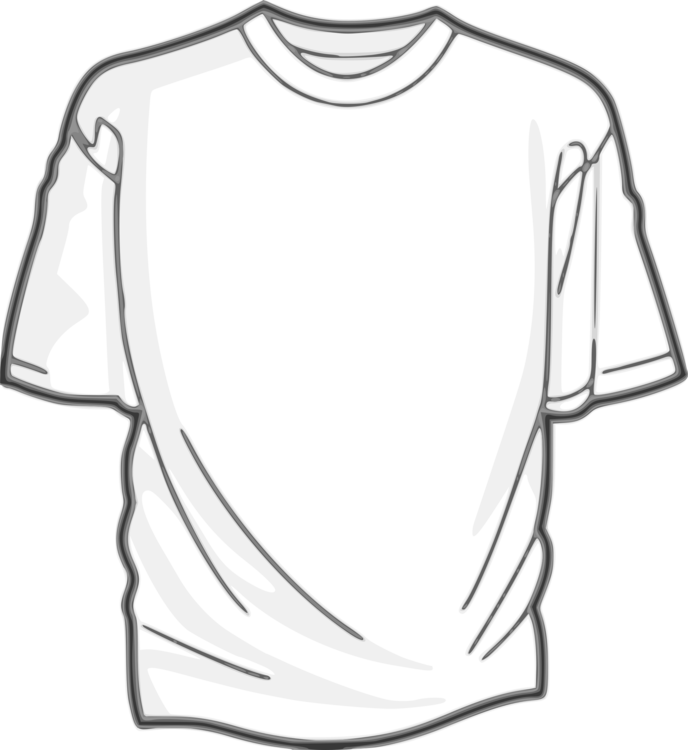 picture stock T shirt clothing drawing. Shirts vector silhouette