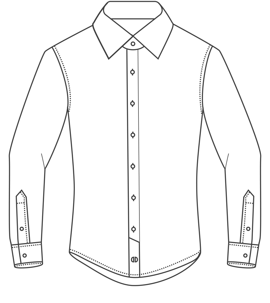 graphic free library Shirt Collar Drawing at GetDrawings