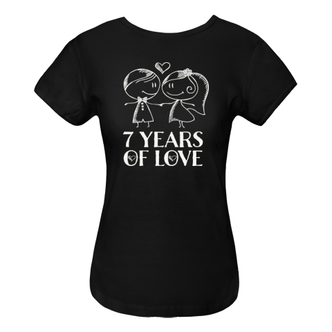 black and white  th anniversary women. Drawing shirts cute