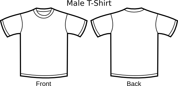 clipart library Drawing shirts easy.  collection of simple