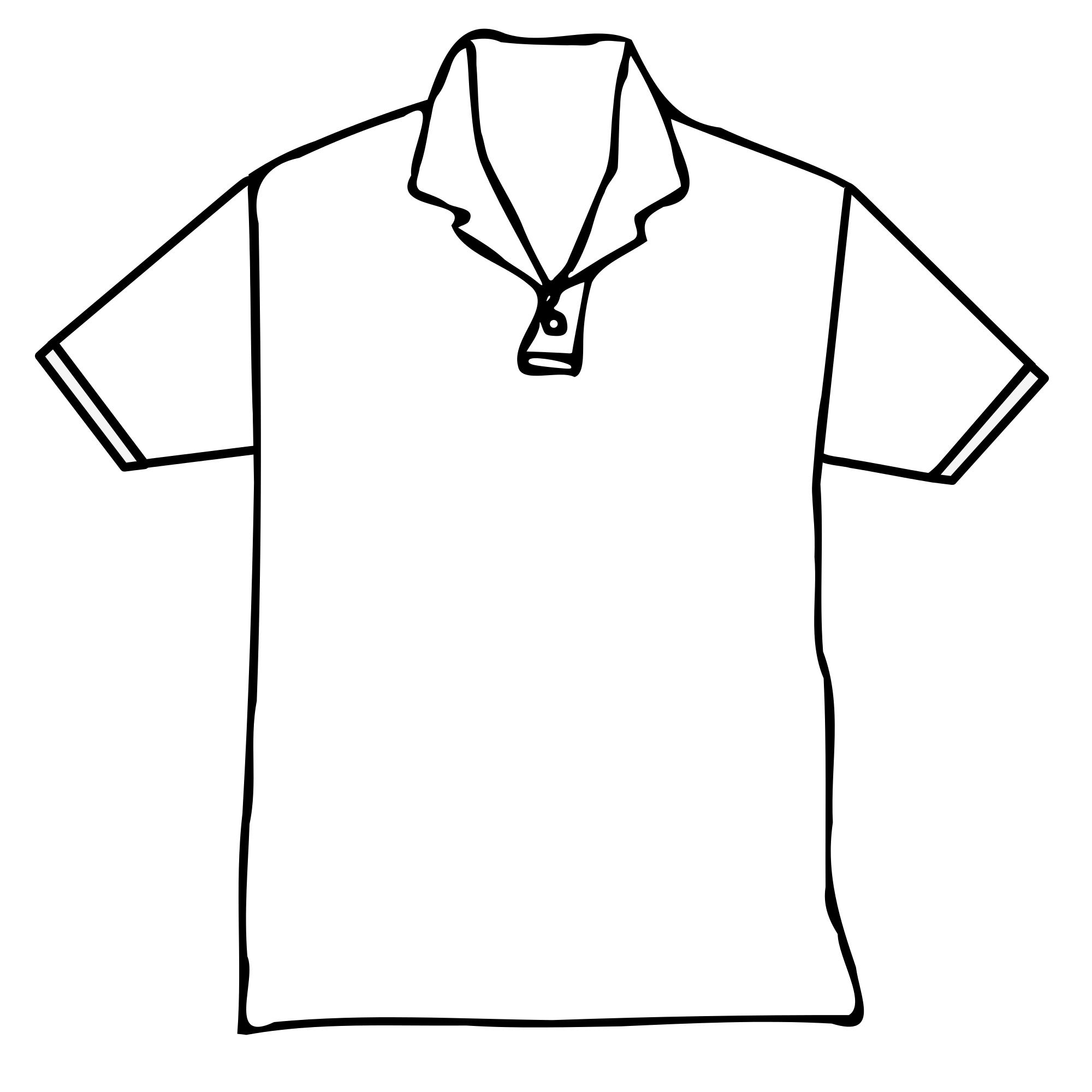 vector transparent library Collection of free shirt. Drawing shirts gown