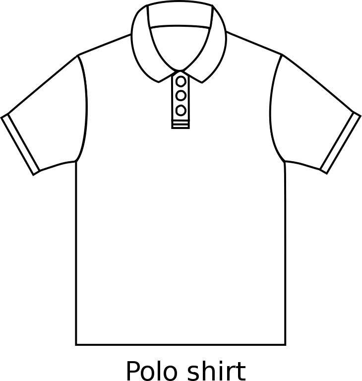 vector download Drawing shirts polo shirt. File type svg wikimedia