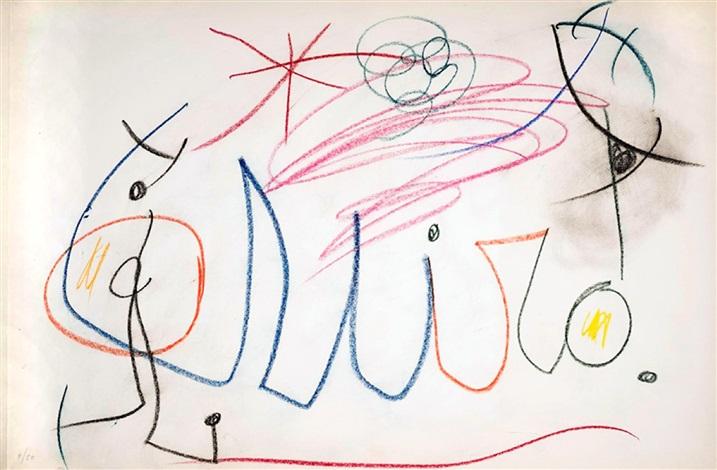 banner download Drawing signature joan miro. Mir by on artnet