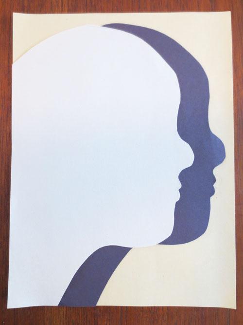 jpg free Shadow drawings lessons kinderart. Drawing silhouette art