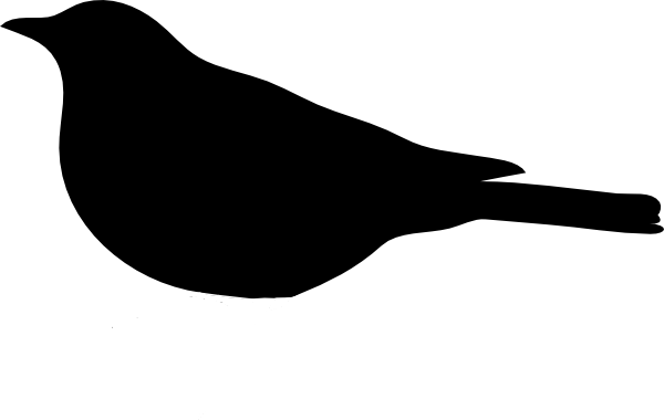 free stock Bird simple at getdrawings. Drawing silhouette easy